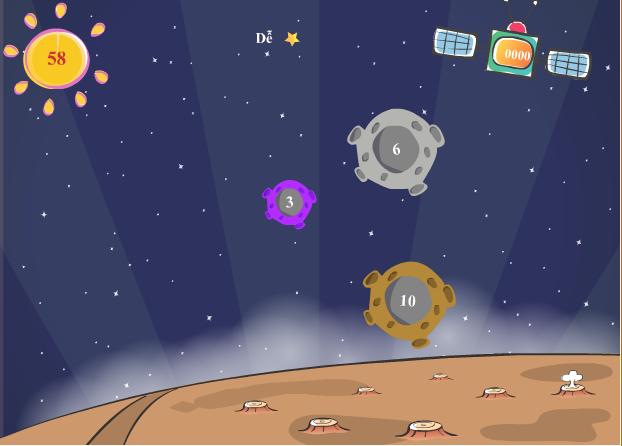 game khám phá hành tinh số
