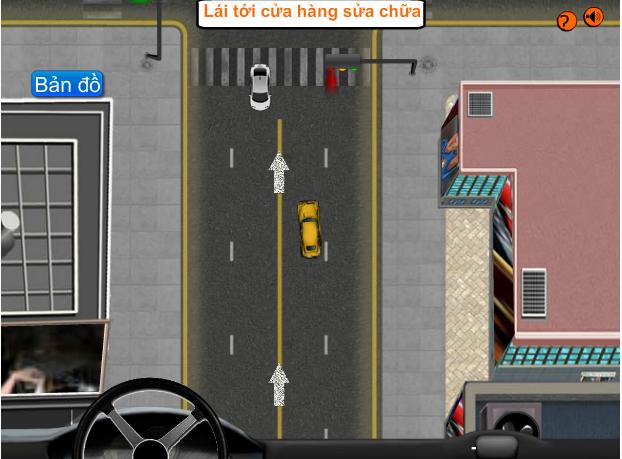 game taxi thành phố