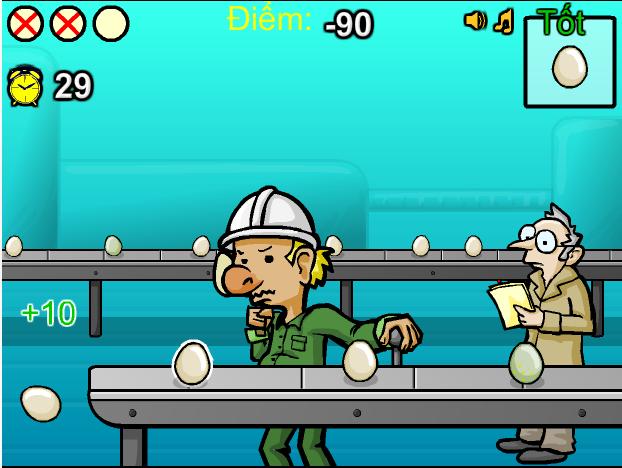 choi game công nhân nhà máy