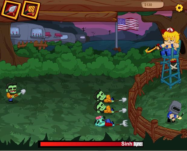 game zombie đột kích