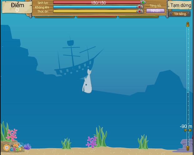 game cá mập trắng