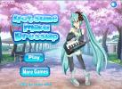 Game Thời Trang Cho Hatsune Miku