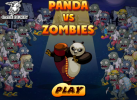 Game Kung Fu Panda VS Zombies