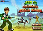 Game Ben 10 VS Người Hành Tinh