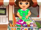 Game Dora Chuẩn Bị Picnic