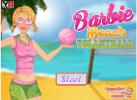 Game BarBie Bóng Chuyền Biển