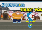 Game Doremon trượt ván