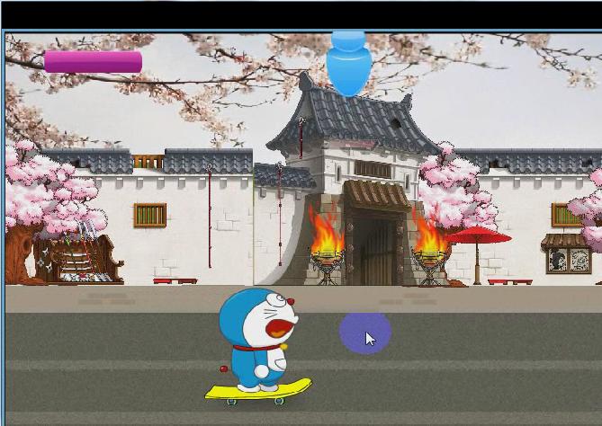 Game Doraemon trượt ván