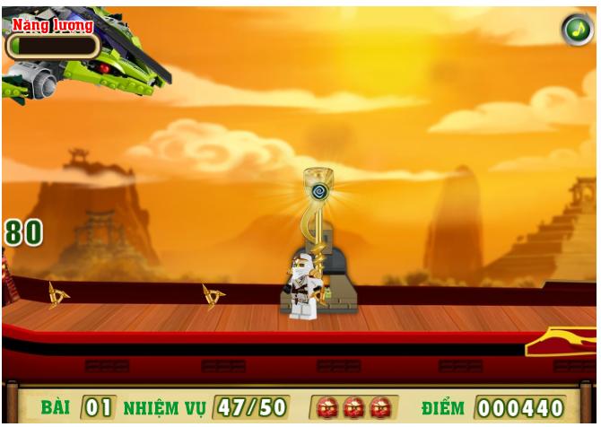 Game ninja lego đại chiến
