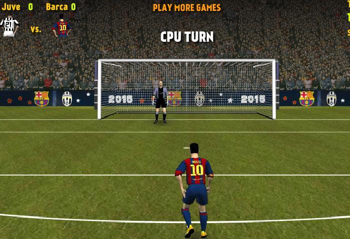 Chơi game Juve đối đầu Barca