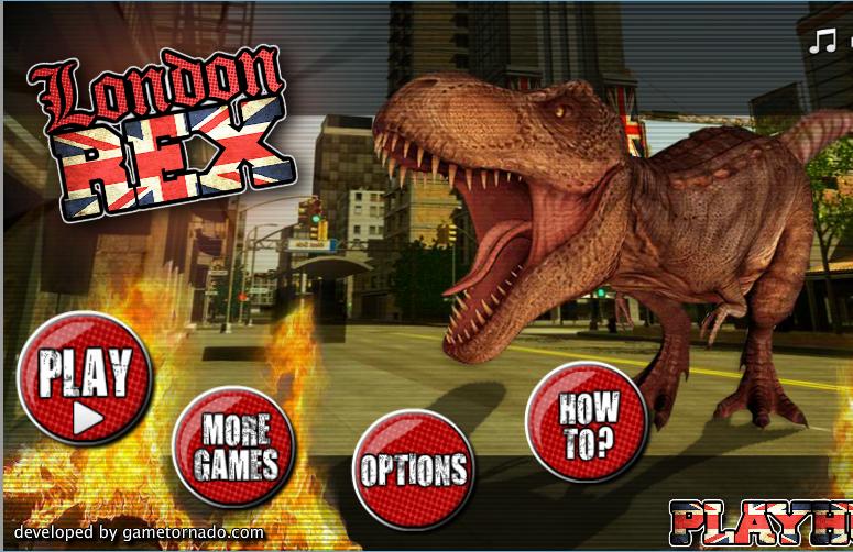 Chơi game khủng long bạo chúa