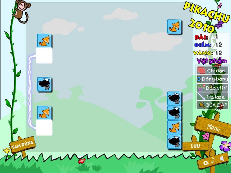 Chơi Game Pikachu 24h