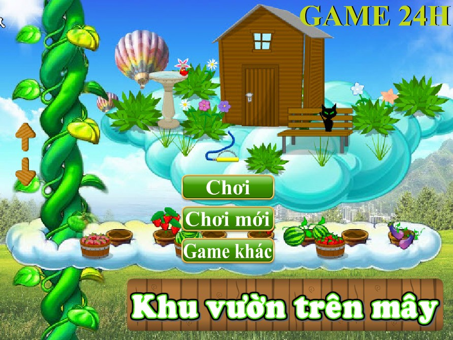 Game Sky Garden - Khu vườn trên mây
