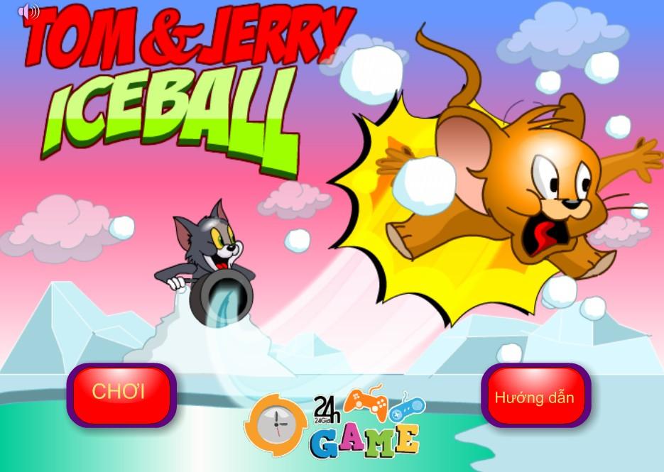 Game Tom&Jerry - Trận chiến bóng tuyết