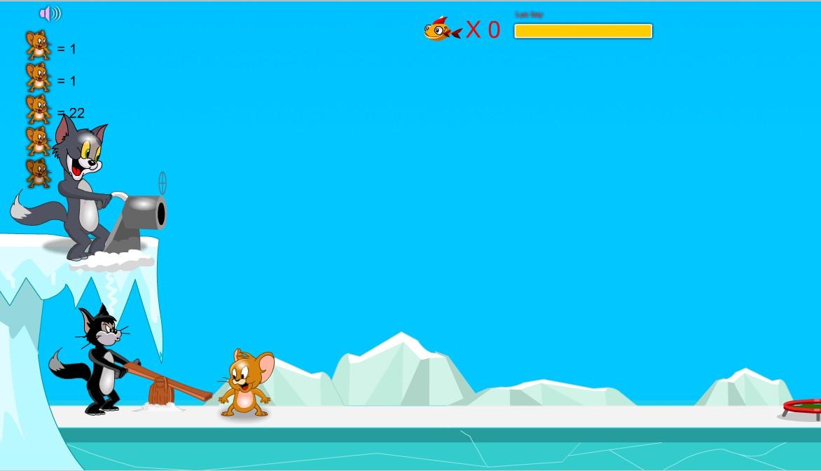 Chơi Game Tom&Jerry - Trận chiến bóng tuyết