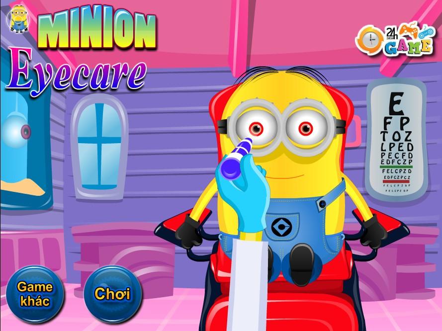 Game Khám mắt cho Minion