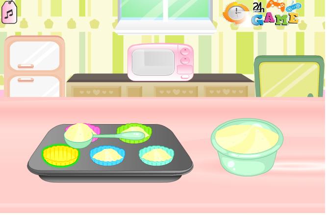 Game Làm bánh kem tươi đơn giản