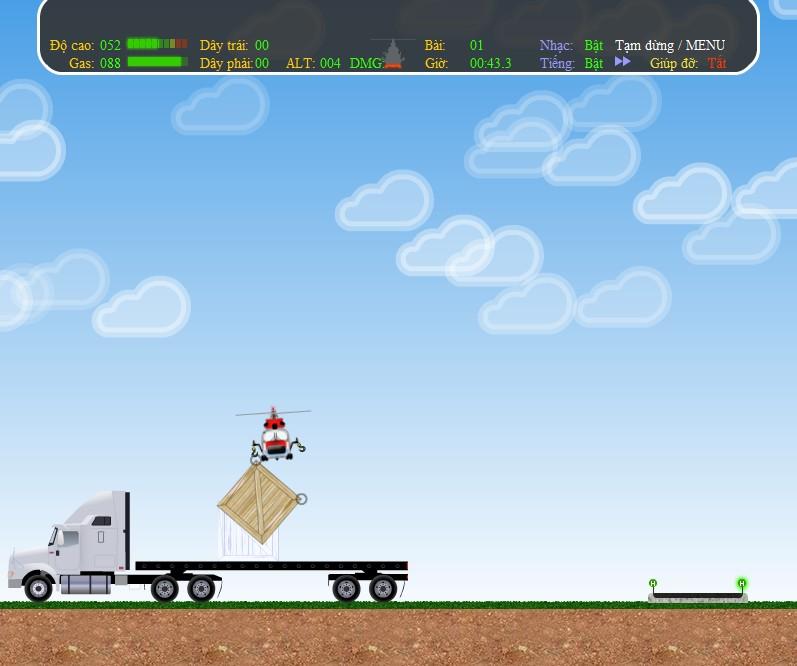 Game Trực thăng vận chuyển