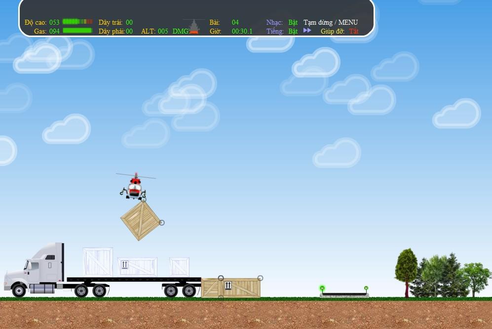 Chơi Game Trực thăng vận chuyển