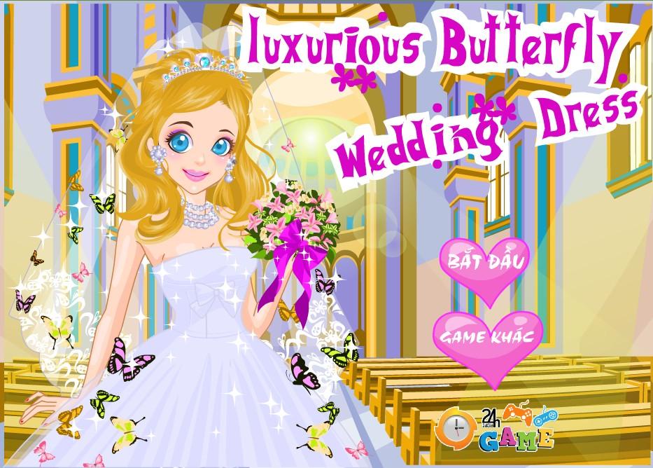 Game Xinh lung linh ngày cưới