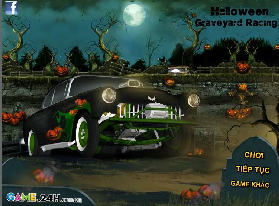 Game Đua xe đêm Halloween