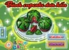 Game Bánh Cupcake dưa hấu ngon tuyệt
