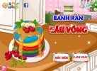 Game Bánh pancake cầu vồng cực ngon