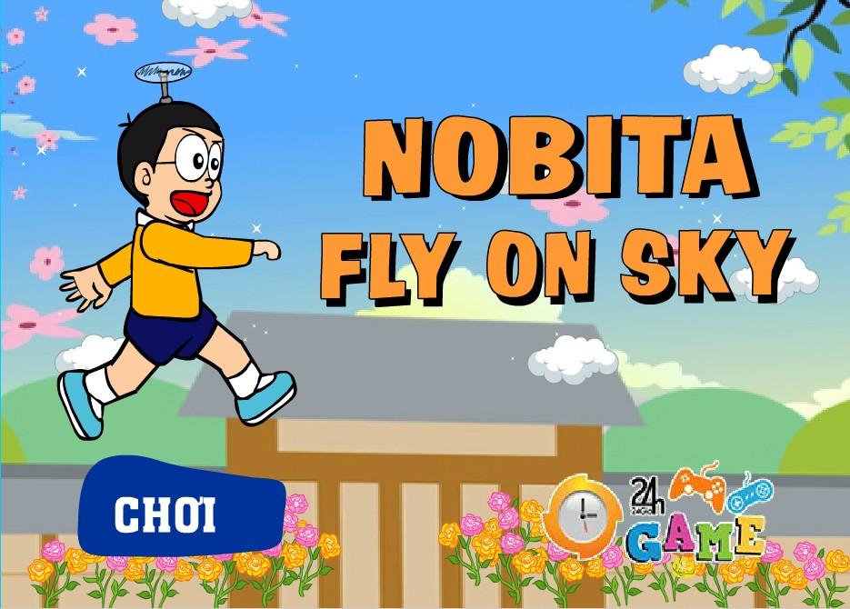 Game Bay lên nào Nobita