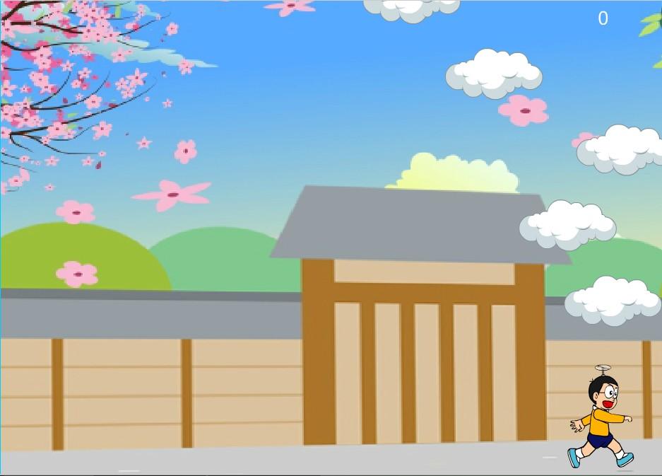 Chơi Game Bay lên nào Nobita