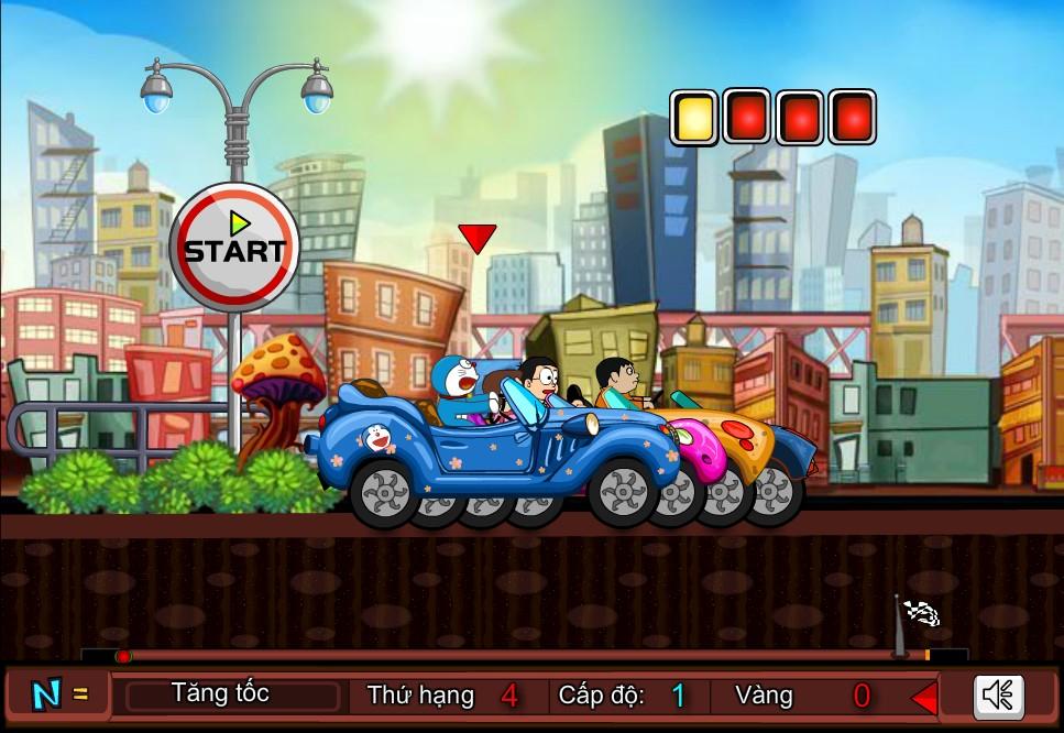 Chơi Game Doremon đua ô tô