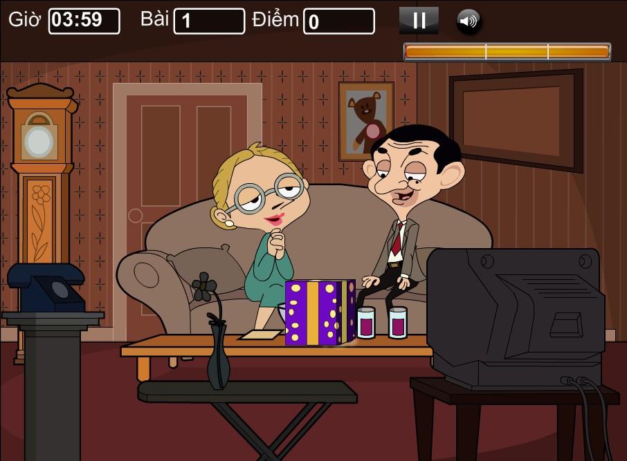 Hôn trộm Mr Bean