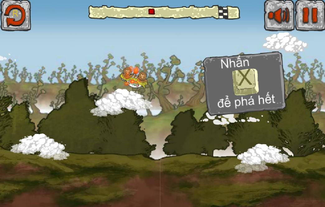 Chơi Game khủng long đua xe
