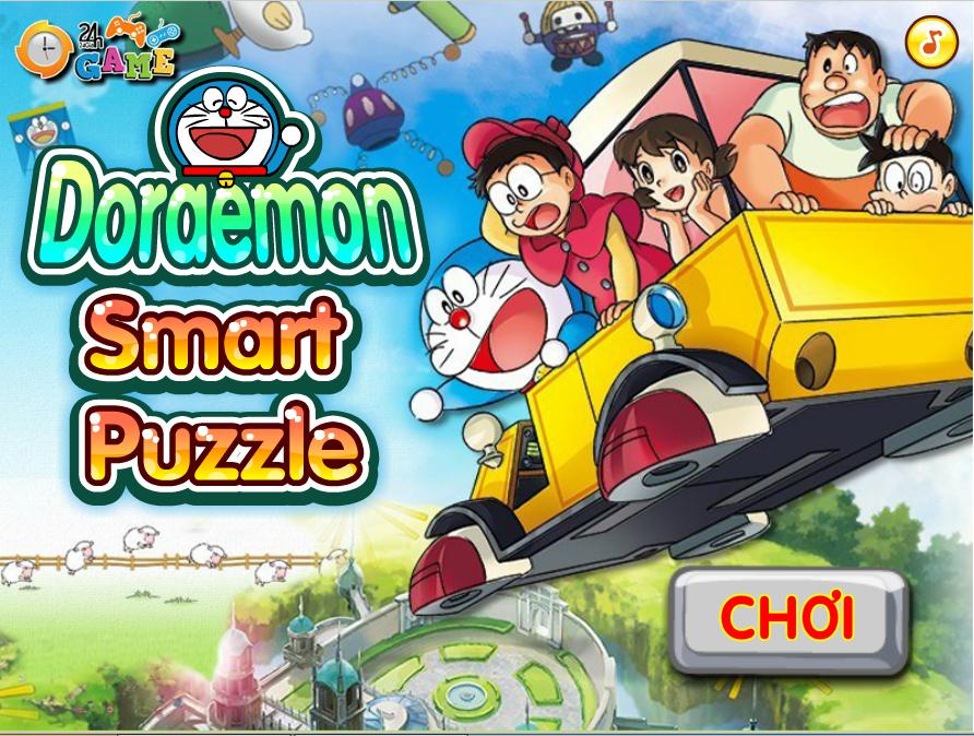 Game Xếp hình Doremon 2