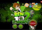 Game Ben 10 diệt zombie kịch tính