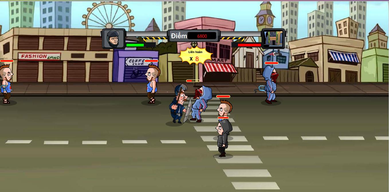 Chơi Game Cảnh sát chống bạo động