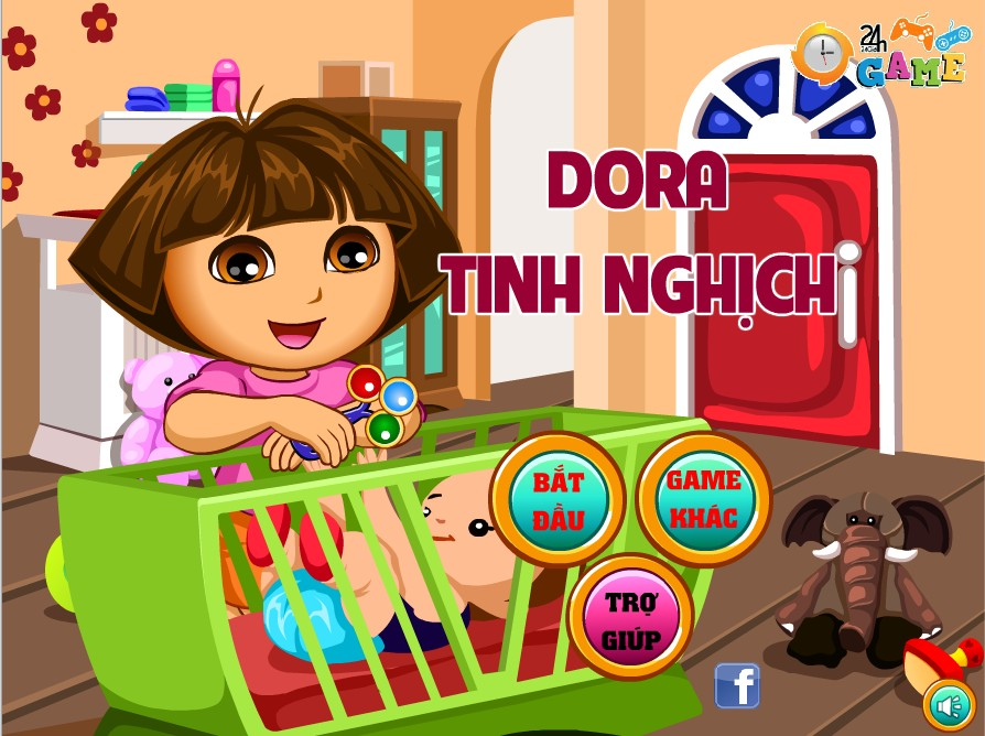 Game Dora giết thời gian