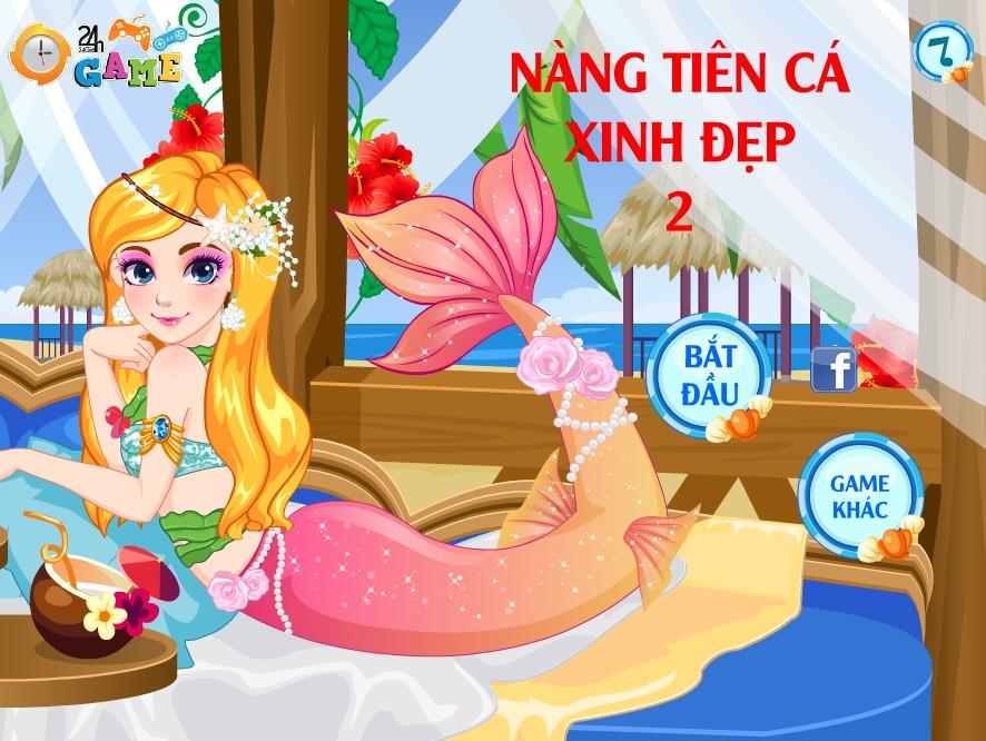 Game Nàng tiên cá xinh đẹp 2