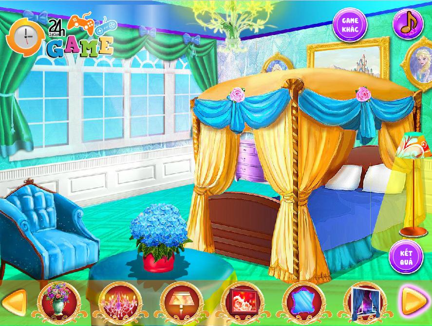 Chơi Game Phòng ngủ công chúa 2