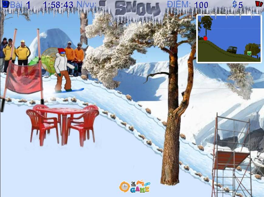 chơi Game Siêu sao trượt tuyết 2