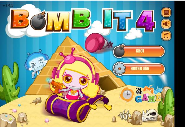 Giới thiệu game đặt bom it 4: Tham gia vào trò chơi này người chơi sẽ điều  khiển nhân vật chơi của mình đặt bom để phát nổi chúng rồi thu thập ...