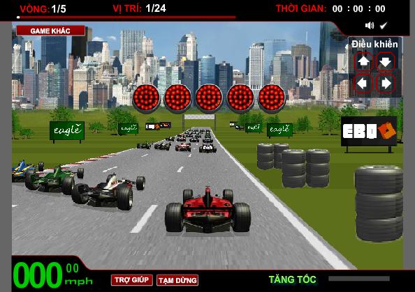 chơi game đua xe f1