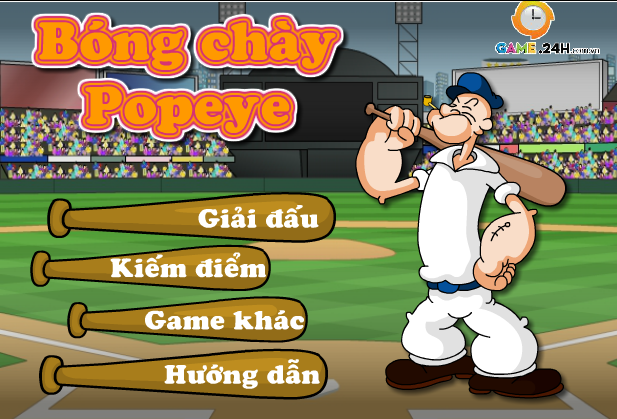 siêu sao bóng chày popeye