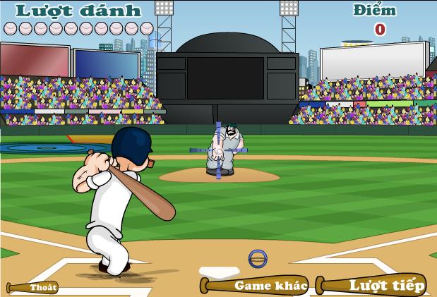 game siêu sao bóng chày popeye