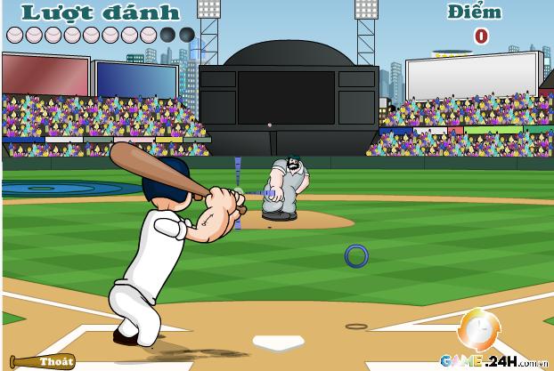choi game siêu sao bóng chày popeye