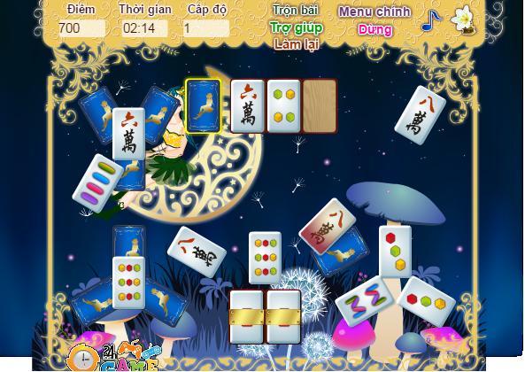 chơi game xếp bài mahjong