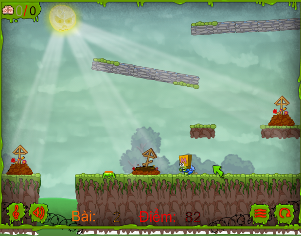 chơi game zombie ăn thịt người