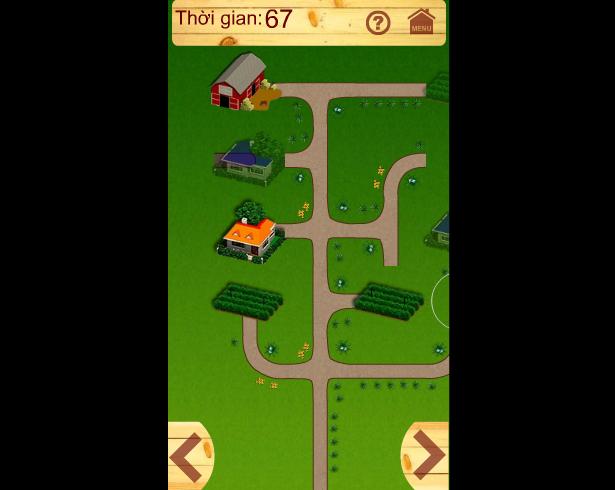 chơi game đường đến nông trại