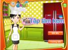 Game Học làm kem socola