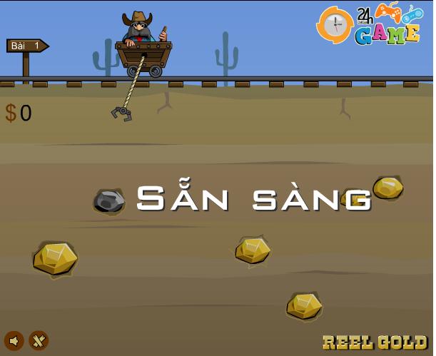 game thợ mỏ đào vàng