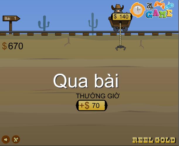 choi game thợ mỏ đào vàng